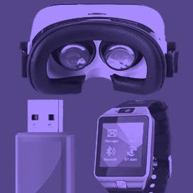 Accessoires audio et video publicitaires
