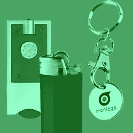 Porte-clés lumineux et LED