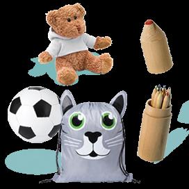 Cadeaux publicitaires pour enfants