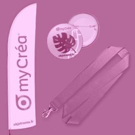 Drapeaux et banderoles publicitaires