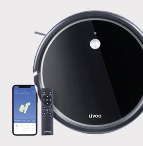 ASPIRATEUR ROBOT LAVEUR DE SOL LIVOO®