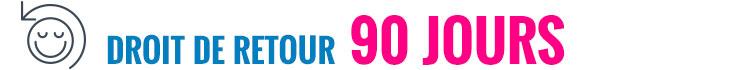 Droit de retour 90 jours