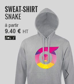sweat shirt publicitaire mixte - objetrama